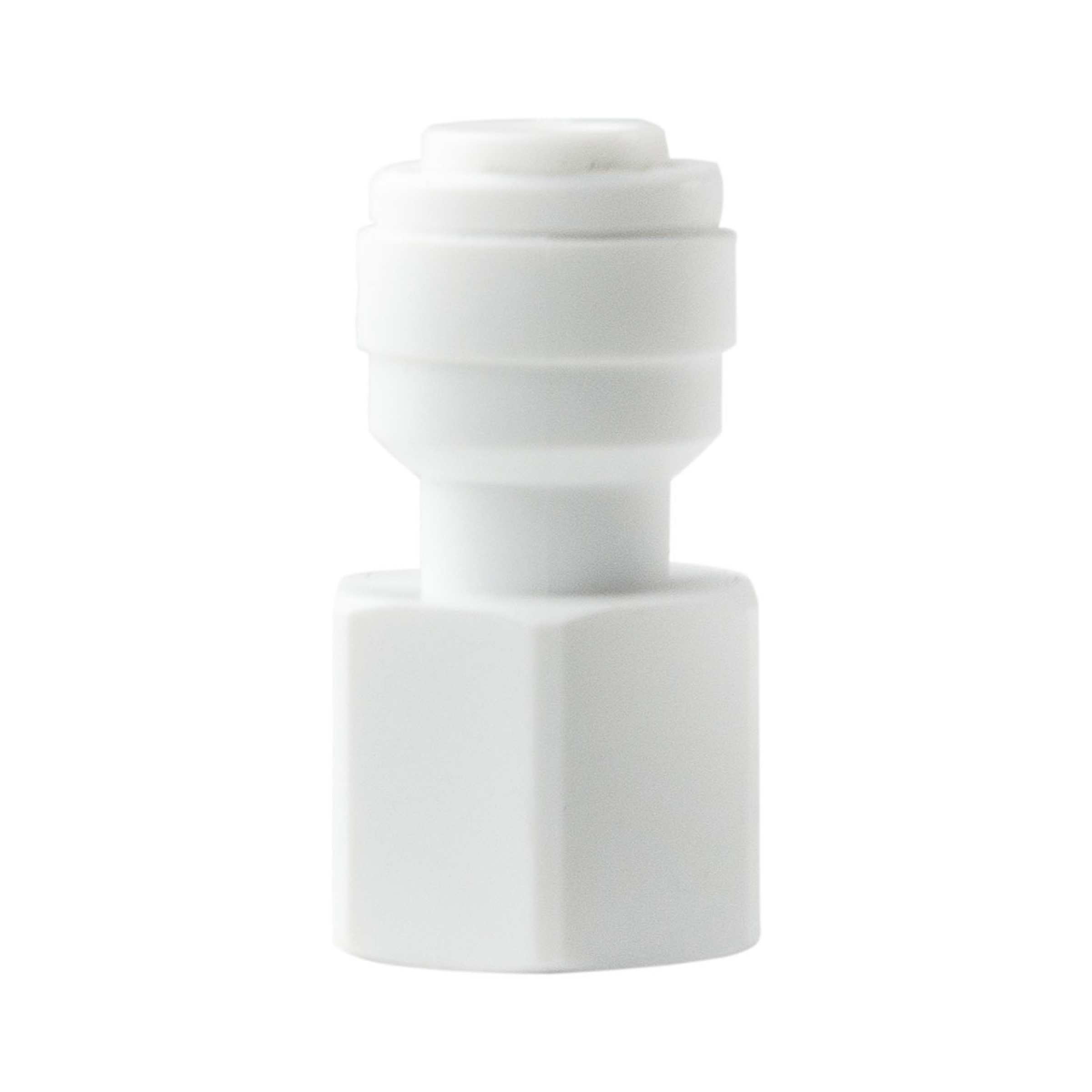 """reverse osmosis faucet adapter 1//4/"""" quick connect x 7//16/"""" female RO"""
