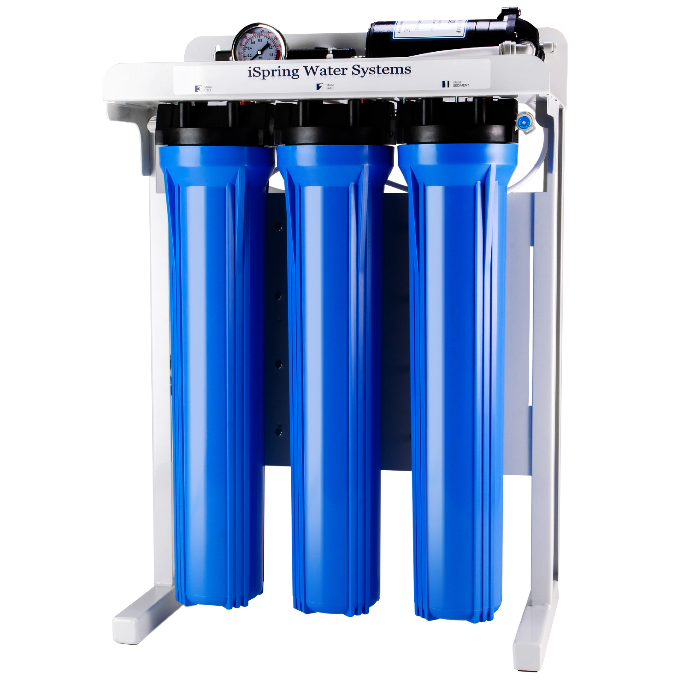 Ispring Rcb3p 300 Gpd Commercial Grade Reverse Osmosis