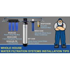 Tips on How to Install a Whole House Water Filtration System